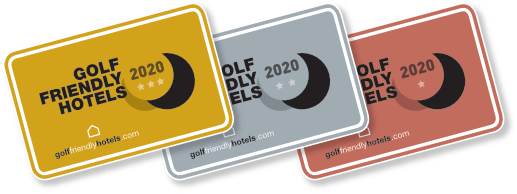 Los sellos de Golf Friendly Hotels